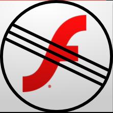 No Adobe Flash