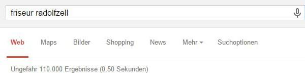 Google Suche Unternehmen in Radolfzell