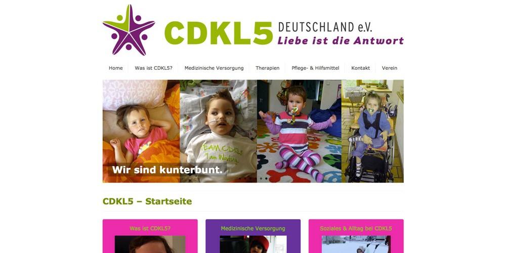 CDKL5 Webseite