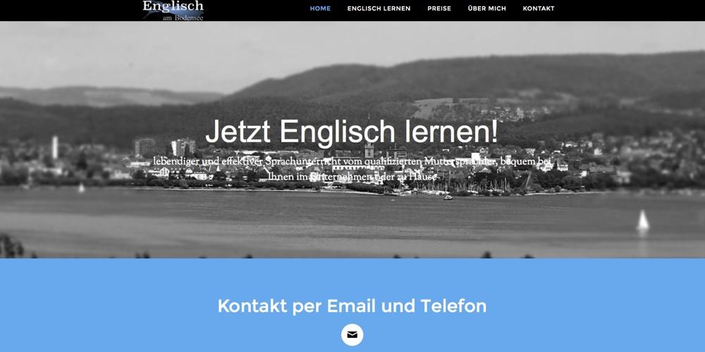 Englisch am Bodensee Webseite