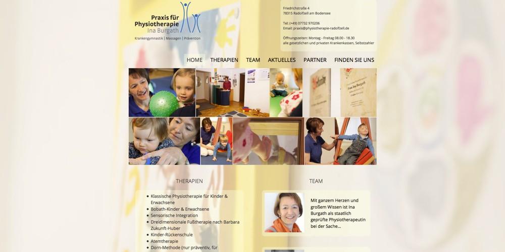 Physiotherapie Ina Burgath